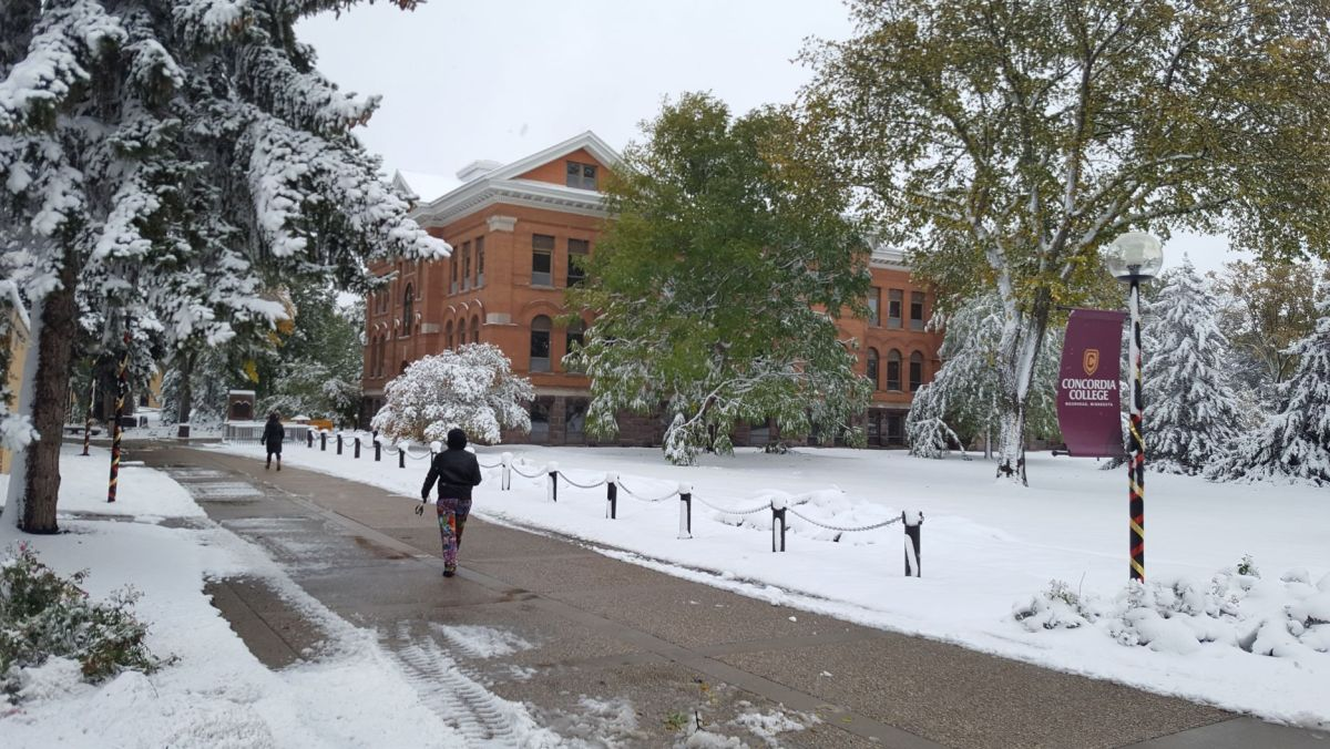 Concordia College, Moorhead, MN - Homecoming 2019 blizzard